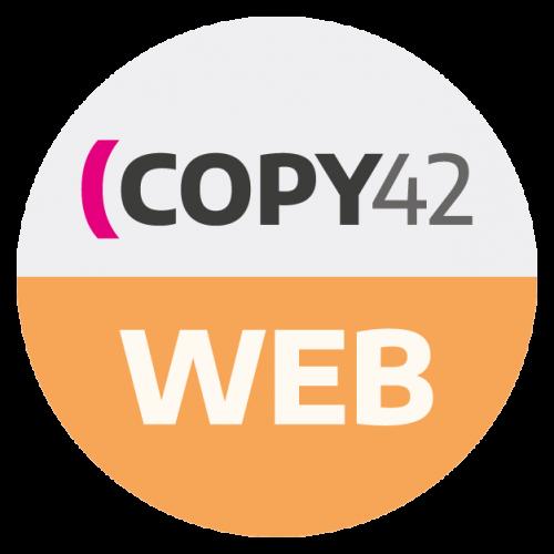 Copy42 WEB corso di digital copywriting