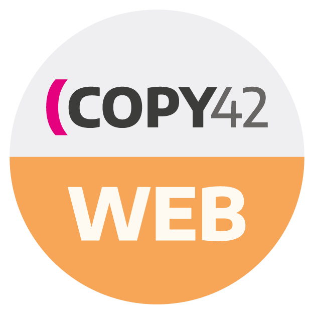 Copy42 WEB corso di digital copywriting
