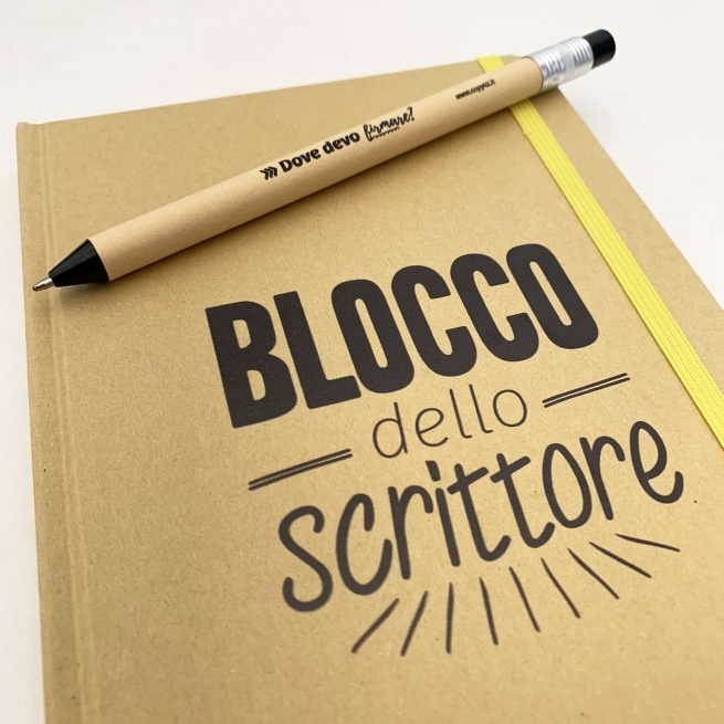 Blocco per copywriter