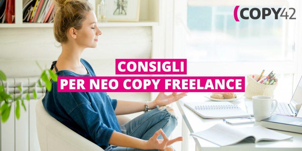 Consigli per copywriter freelance