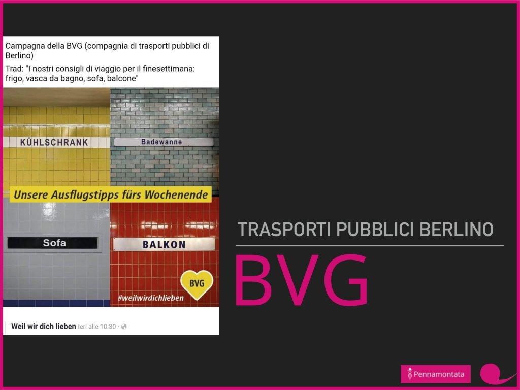 BVG comunicazione #iorestoacasa