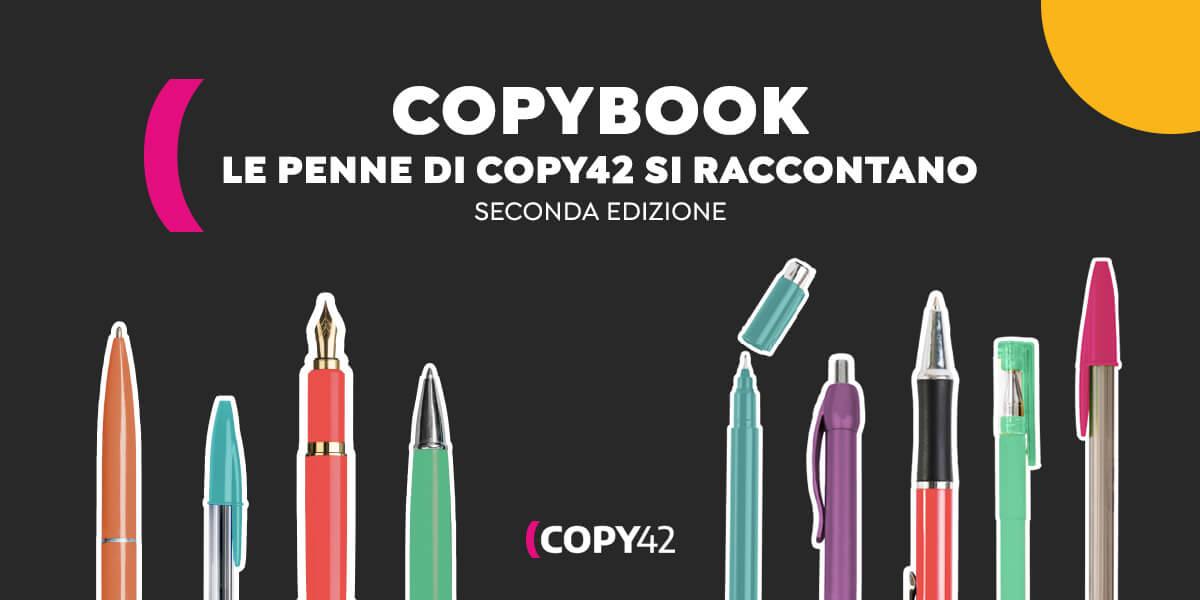 Copybook II. Le penne di Copy42 si raccontano