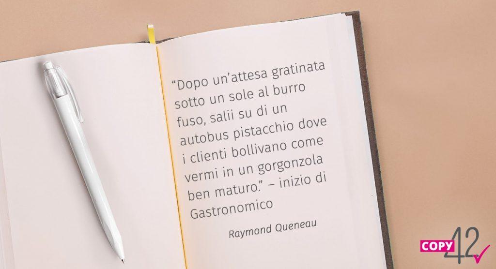 Citazione Raimond Queneau