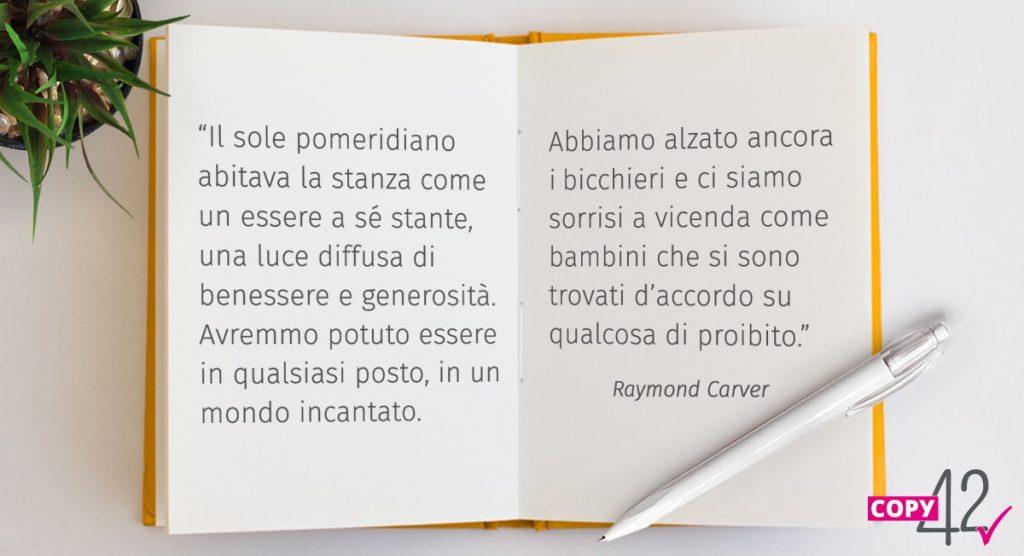 citazione Raymond Carver