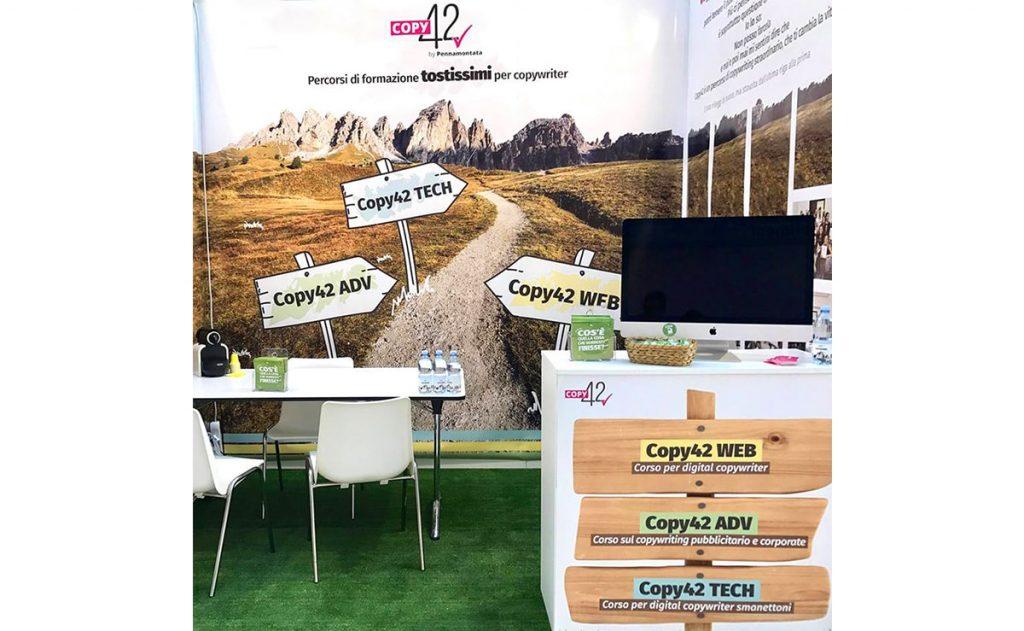 Stand Copy42 al Web Marketing Festival
