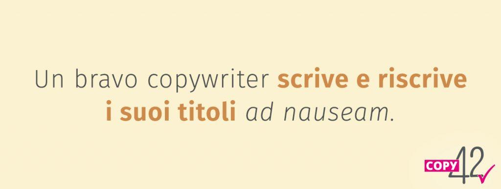 Scrivere e riscrivere i titoli del blog post